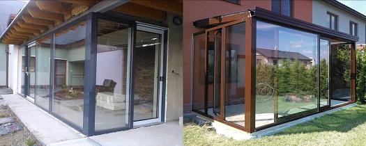 Zakázková výroba, montáž hliníkových oken, dveří a fasád Uničov