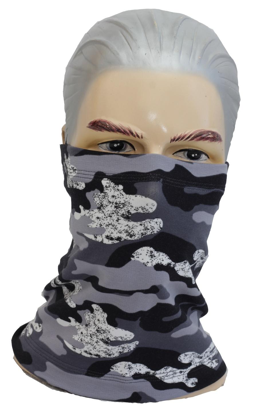 Tunelové bavlnené rúško, šatka pre dospelých - dámska, pánska