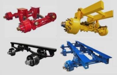Odpružené agregáty ADR - Bogie agregáty s náběžně řiditelnou nápravou pro nosnost až 30 tun