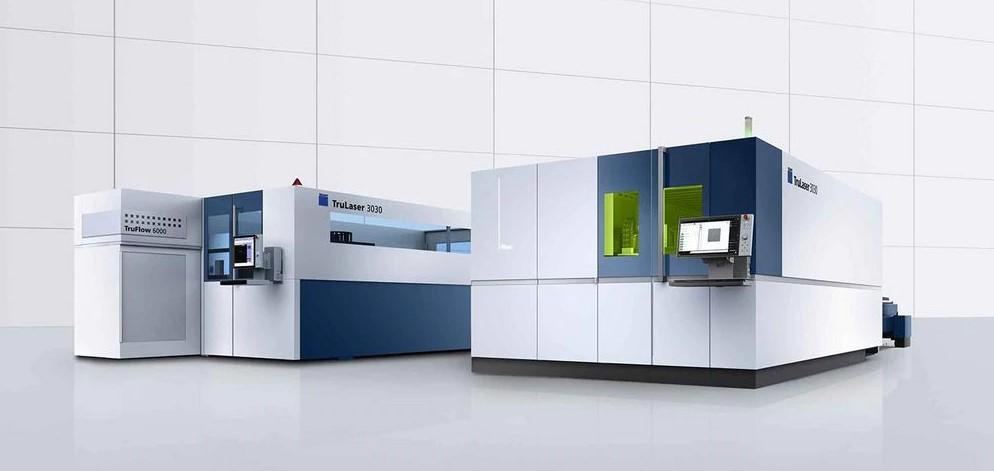 Obráběcí stroje a lasery pro průmyslové aplikace