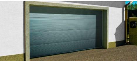 Nová garážová vrata FIBER od firmy OLYMPS DOOR - prodej Kladno