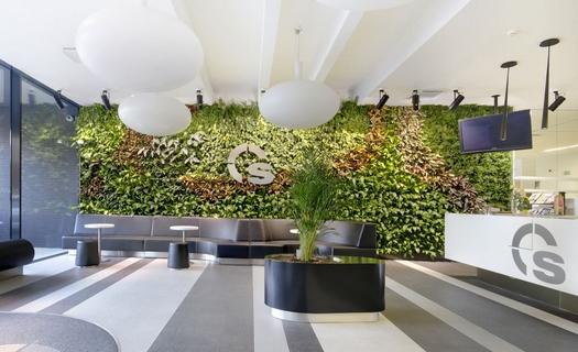 Vertikální kaskádové zahrady do obytných i komerčních prostor