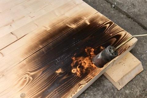Opalování dřeva - Uherské Hradiště