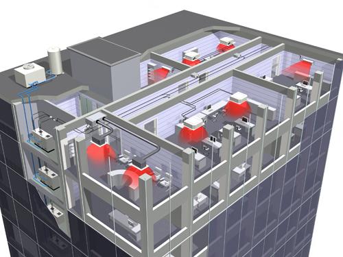 Vytápění budov a domů, podlahové topení