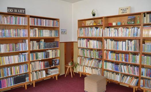 Středisková knihovna Zbraslavice, půjčování knih pro děti a dospělé, časopisů, brožur, internet