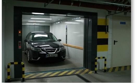 Výtahy pro přepravu osobních automobilů Brno