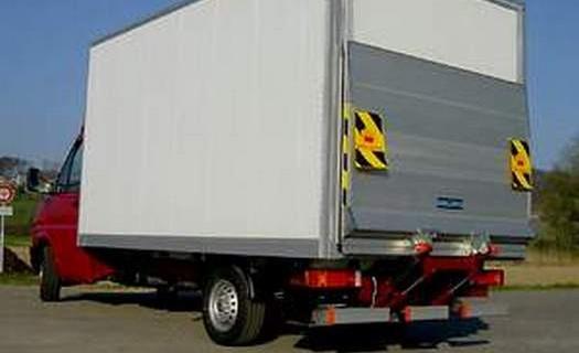 Dodávka a montáž hydraulických čel a plošin Brno, standardní, zasouvací, skládací, použité plošiny