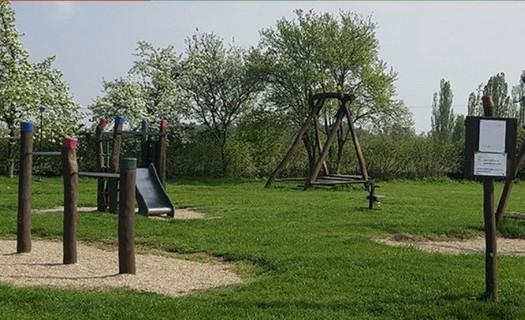 Obec Olbramice, dětské hřiště