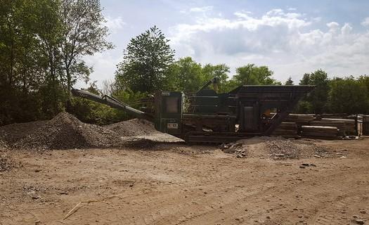 Recyklace a třídění různých frakcí odpadu Nymburk