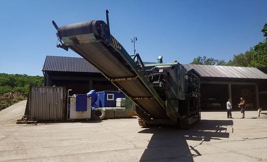 Recyklace stavebního odpadu Nymburk