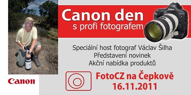Canon a Nikon den, den s profi fotografem Zlín