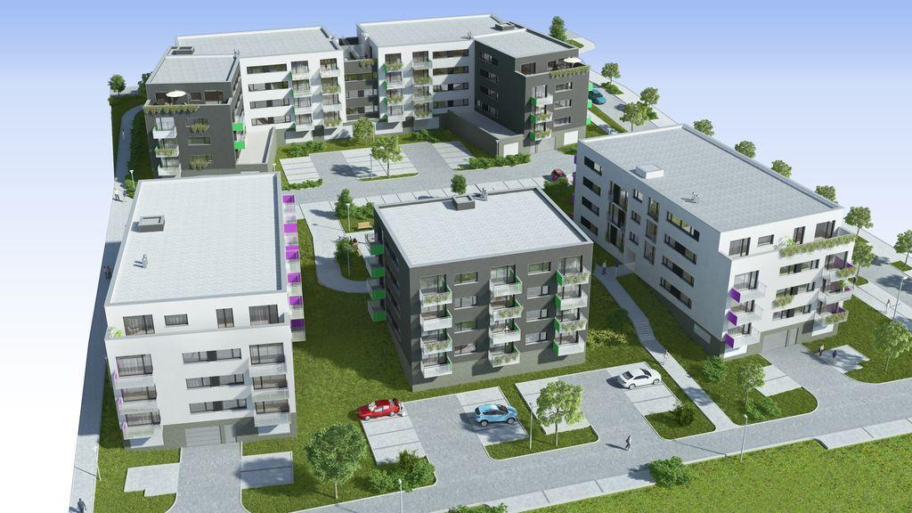 Prodej bytů, Nové byty Plzeň-Bručná