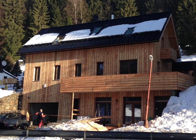 M-stavby-přestavba rekreační chaty Harrachov