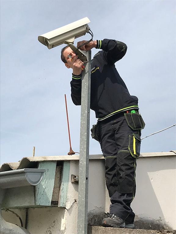 Instalace a servis zabezpečovacích a kamerových systému