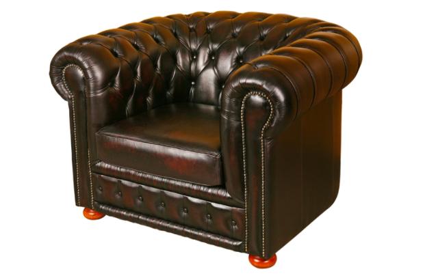 Čalouněný nábytek v tradičním anglickém stylu
