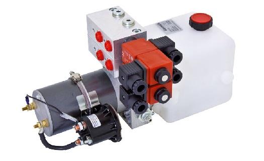 Návrh řešení, dodávka, montáž i servis hydrauliky značky Bosch Rexroth – válce, čerpadla, ventily
