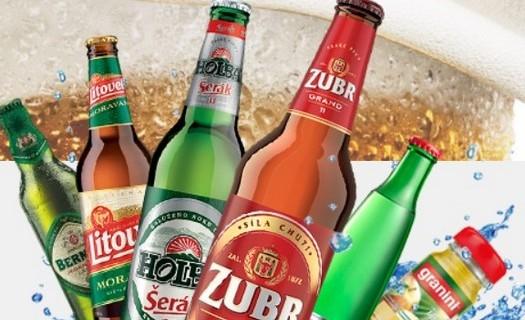 Prodej alkoholických a nealkoholických nápojů, pivo, limonády Kroměříž, distribuce piva, velkosklad