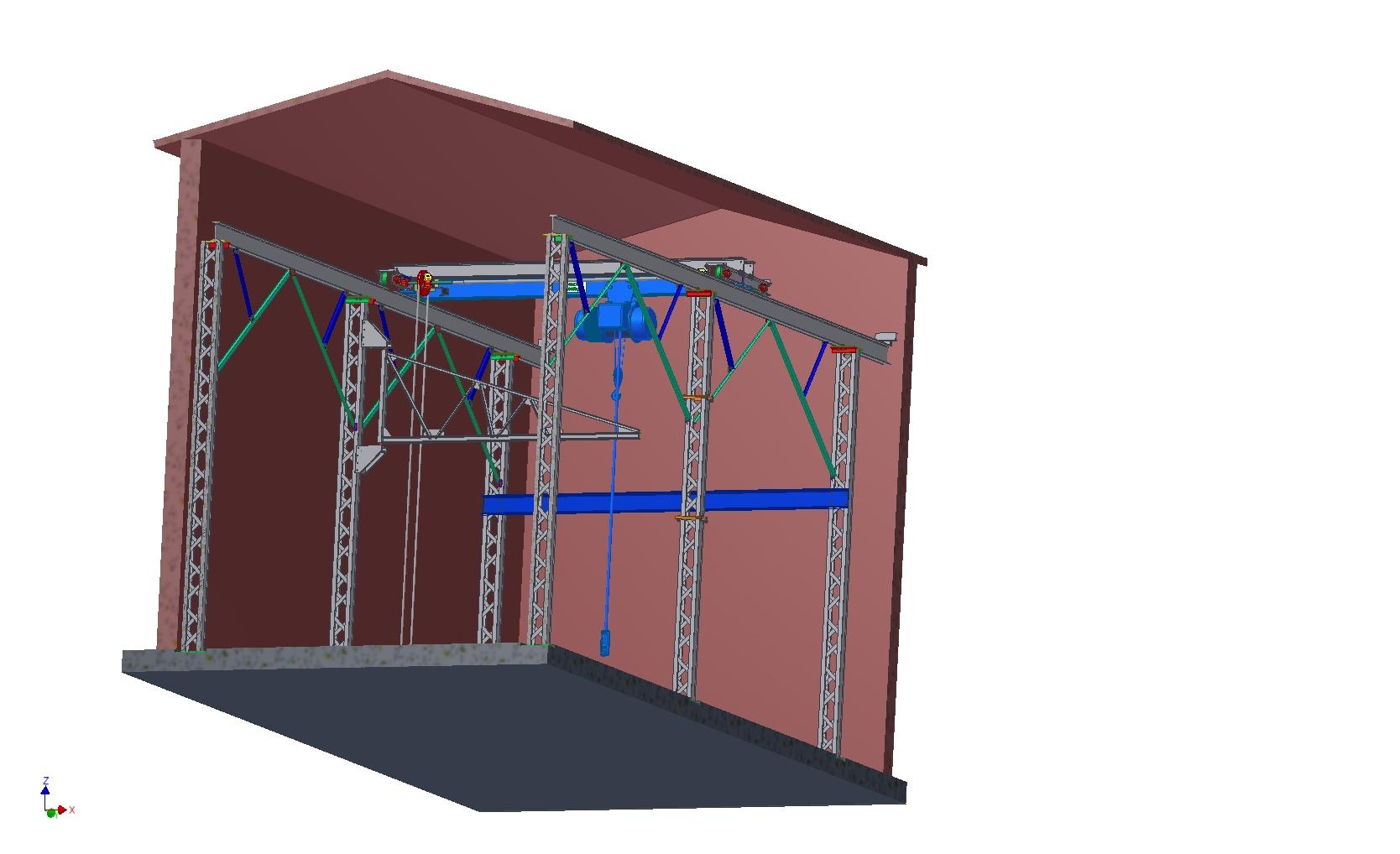 Technická dokumentace a návrhy jeřábových konstrukcí