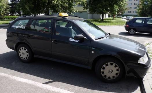 Taxislužba Strakonice, Písek, přeprava osob i zásilek