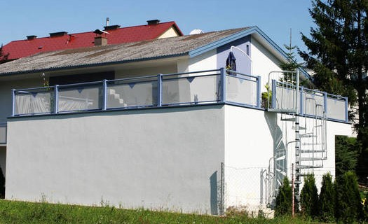 Montáže moderních balkonů, různé varianty Olomouc