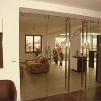 Skleněné dveře, svítící skla, skleněné fasády Šumperk