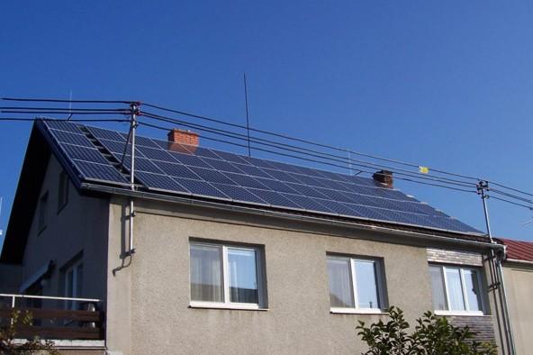 Fotovoltaika, fotovoltaické elektrárny, solární panely Ostrava