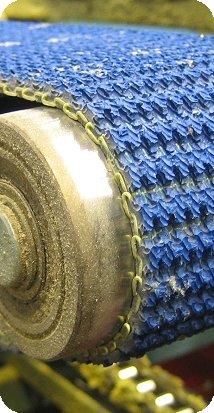 Production of conveyor belts, timing belts, Jihlava, the Czech Republic