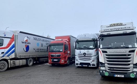 Gütertransport in der gesamten EU, vor allem nach Deutschland die Tschechishe Republik