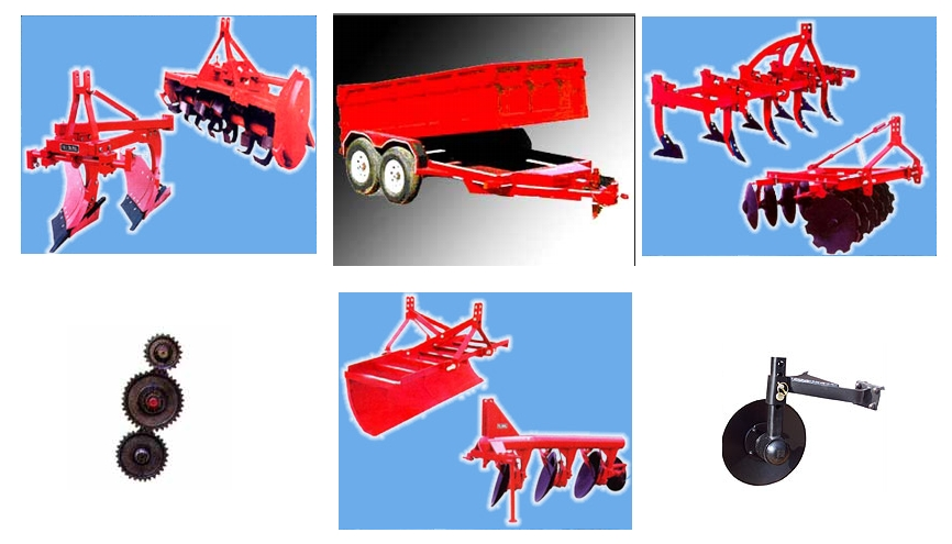 INDIA; Agricultural machinery