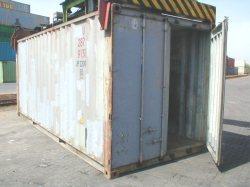 Ocelové námořní kontejnery
