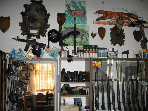 Komisní prodej zbraní, dalekohledy, zbraně a střelivo Šumperk
