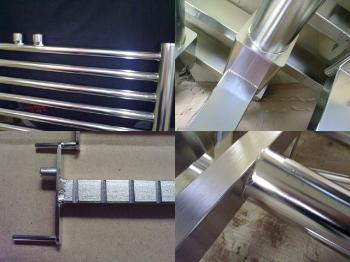 Electrochemical polishing, pickling and passivation of stainless products