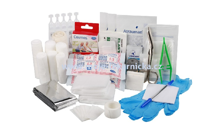 Prodej vybavených lékárniček první pomoci pro sportovní oddíly, sportoviště či školní akce