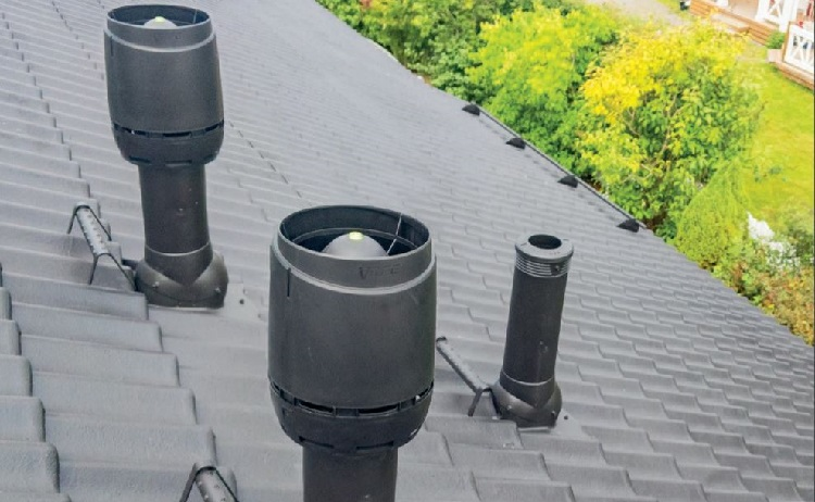 Střešní ventilátory VILPE  - prodej Brno