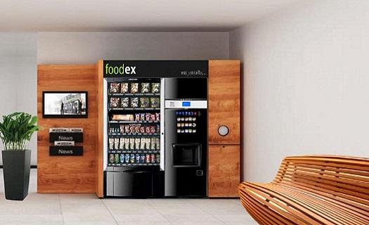 Prodejní automaty na kávu a potraviny pro veřejné prostory - servis do 24 hodin
