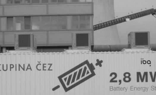 Velkokapacitní bateriový systém