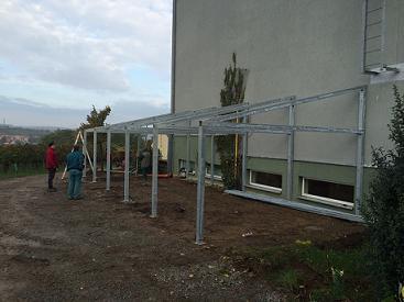 Ocelové konstrukce a ocelové haly Bořetice - kovovýroba