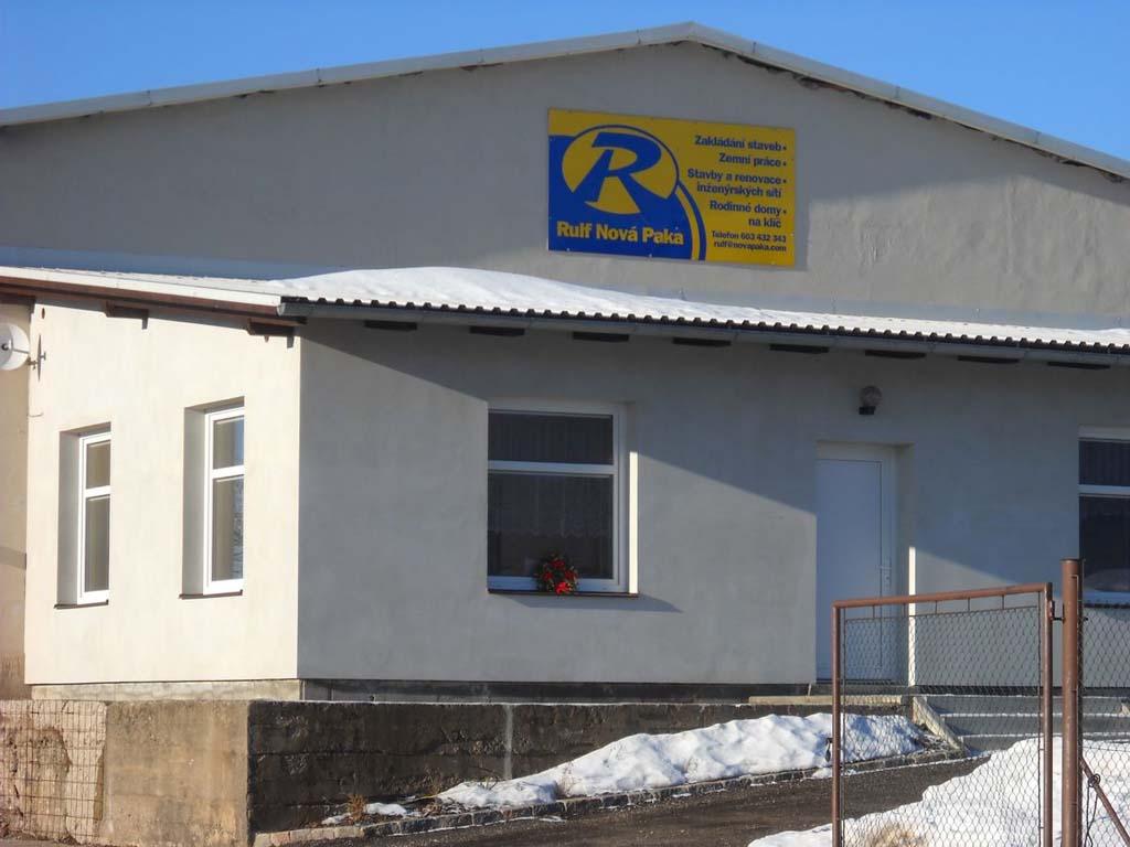 Rekonstrukce domů Nová Paka Jičín Vrchlabí Studenec Jilemnice