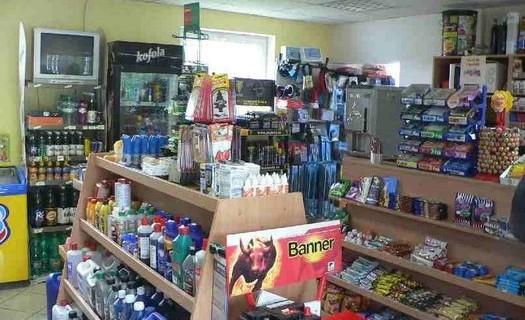 Prodej, chlazené nápoje, cukroviny a cigarety Rokycany