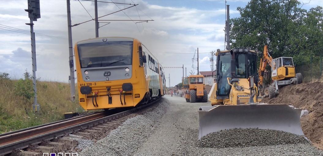 Stavby železnic a dalších dopravních komunikací v Jihomoravském kraji