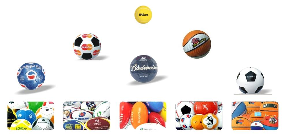 INDIE; Sportovní míče dle specifikace designu