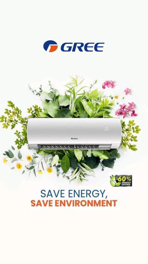 Klimatizační technika značek Gree a Aux Air