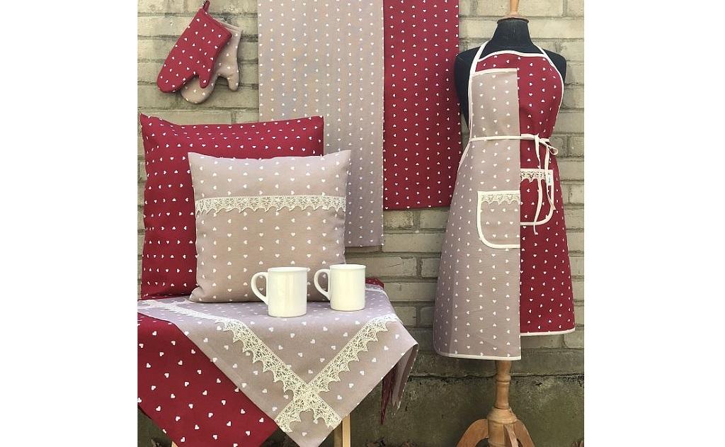 Eshop s bytovým textilem a výroba bytového, kuchyňského textilu na zakázku