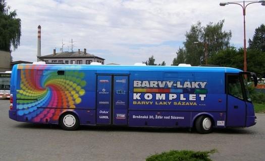 Specializovaný prodej barev Žďár nad Sázavou