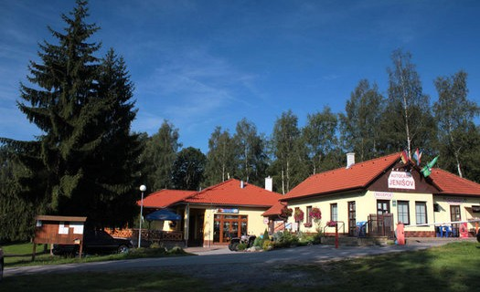 Autocamp Jenišov na Lipenské přehradě