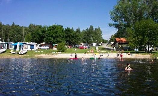 Autocamp Jenišov na Lipenské přehradě, vodní sporty