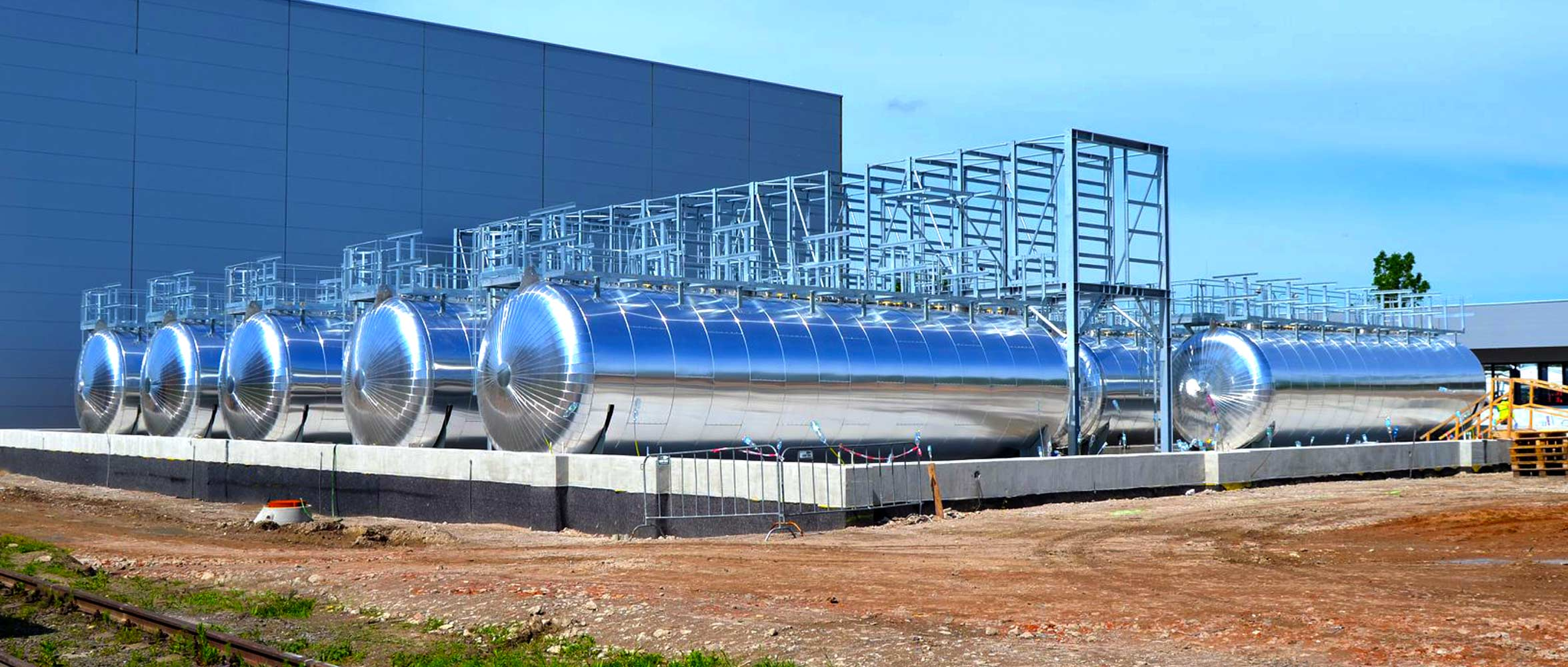 PACOVSKÉ STROJÍRNY, a.s. výroba produktů pro chemická odvětví a energetiku