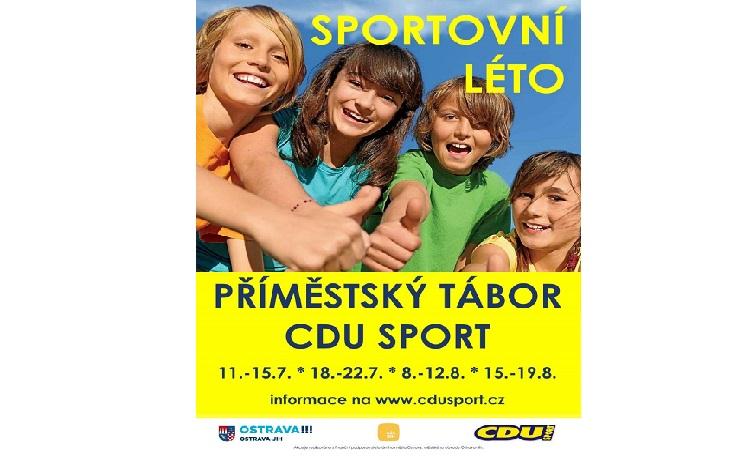 Letní sportovní příměstský tábor pro děti do čtrnácti let - den plný sportu, her a zábavy