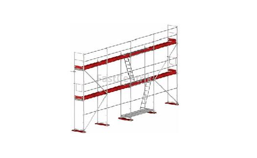 Fasádní a ochranné lešení se stavitelnými nohami - prodej v e-shopu
