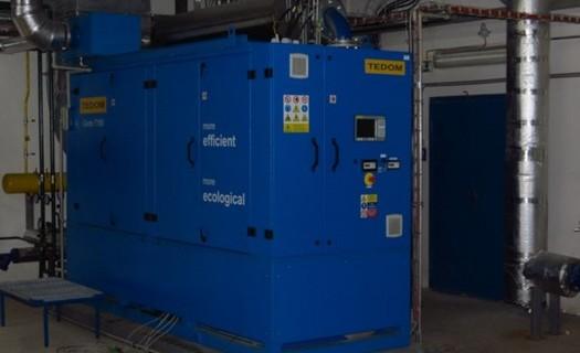 Plynová kotelna centrálního zásobování tepla Frýdlant